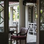 Surrounded verandah around the bar & dining area