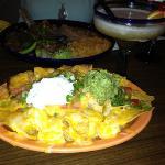 carne asada and chicken nachos!!!