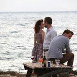 Yialos Taverna drinks by the sea