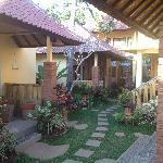I bungalow e il giardino