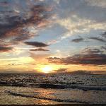 Beautiful Wailea Beach sunset.