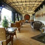Otro espacio del restaurante. Area Bar