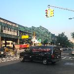 Queensboro Plaza Station (one block from hotel)