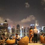 Sky line desde Rooftop bar