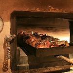 L'agneau de 7 heures confit au four à bois (sur commande)