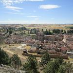 View of Penaranda from the castle