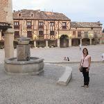 Penaranda town square