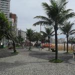 calçadão na Praia da Costa, ótimas caminhadas eu fiz aqui ...