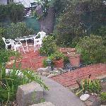 Victorian house sun garden