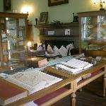 Innerpeffray library main room