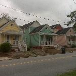 "Colorful ""Row"" houses"