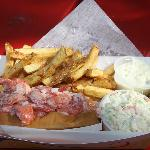 Our Famous Lobster Roll Basket