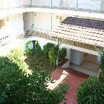 Внутренний двор жилого корпуса