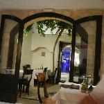 Una sala del ristorante Ambrosia