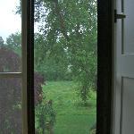 Blick auf die Wiesen