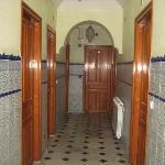 couloir d'accès aux chambres