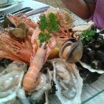 The Seafood plate