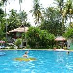Pool and Kerala-Style House