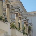 la terrasse du musée