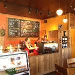 Our espresso bar area...