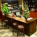 Danny's Bar- Fully licensed- Serves a wide selection of beer and wine.