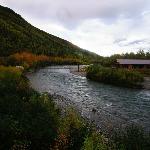 Moose Creek and Lodge from the Gazeebo