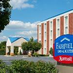 The main entrance for the Fairfield Inn & Suites