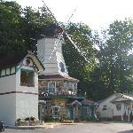 The windmill at Heidi motel.