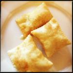 gnocco fritto con ripieno di gorgonzola
