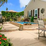 Enjoy the Professionally Landscaped Pool/Patio