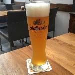 The delicious Schofferhofer weinzenbier