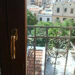 Vue de notre fenêtre de chambre