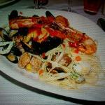 Linguines aux fruits de mer.Juste delicieux!