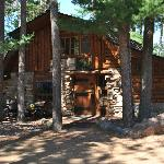 Big Bear Hideaway custom log cabin