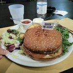 questo hamburger era buonissimo