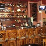 Beautiful bar to serve tasty drinks