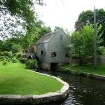 The old grist mill, one block away