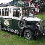old scotish bus