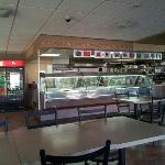 cafeteria style counter