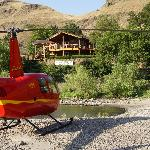 River View of Resort and Helicopter Tours