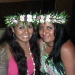 My Sister and I enjoying a night at Boatshed