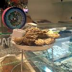 Fishhh restaurant at L'illa (lower ground floor) €12 for 12 oysters & a glass of cava.