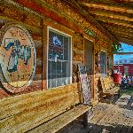 Northern Lights Saloon porch