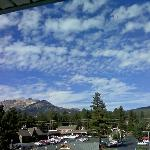 Town of Mammoth Lakes facing west from Room 404