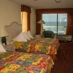 All rooms are ocean view or ocean front
