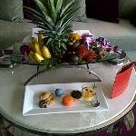 Fruit Platter and Sweets
