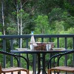 Private balcony with BBQ and stunning views of the Lefroy Brook Valley and Karri Forest.