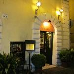 Night entrance view