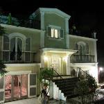 Night view of Villa Adriana