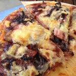 meat lover pizza--delish!!